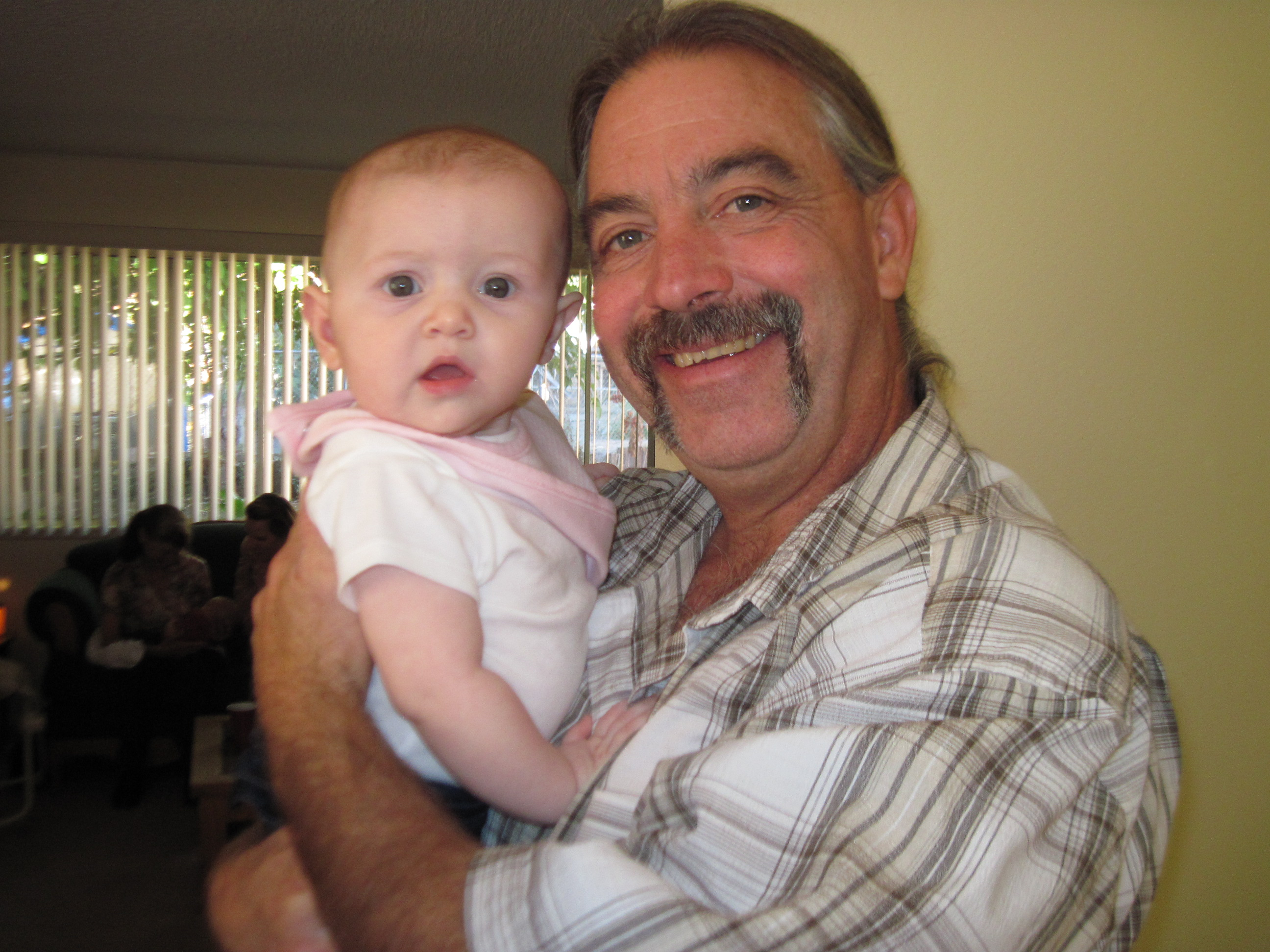 Claire with Pappy Mike